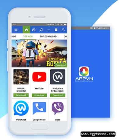 تطبيق Appvn لتنزيل تطبيقات اندرويد مجانا 2020