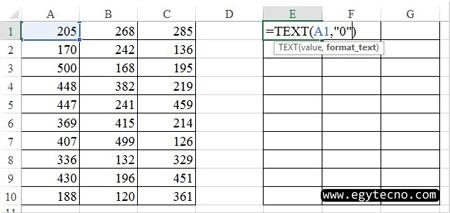 طريقة تحويل الارقام الي حروف 2020, برنامج تحويل الارقام الي حروف في Excel