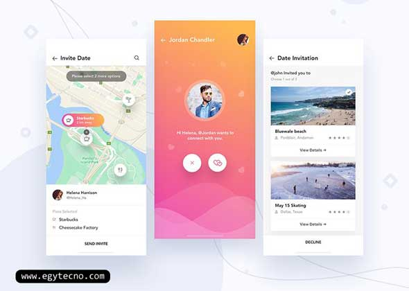 تطبيق happn – Local dating app من أفضل تطبيقات التعارف المجانية