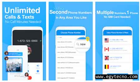 طريقة عمل رقم امريكي بواسطة تطبيق لهاتف الاندرويد 2020