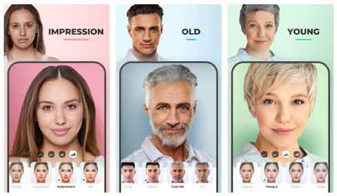 برنامج تكبير العمر FaceApp