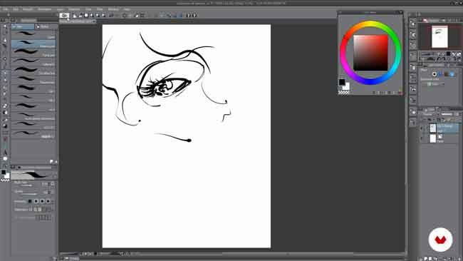برنامج رسم Clip Studio Paint