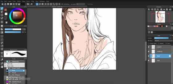 برنامج رسم MediBang Paint Pro