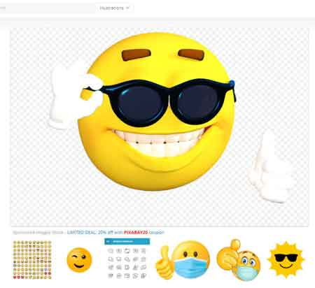 برنامج ايموجي Pixabay