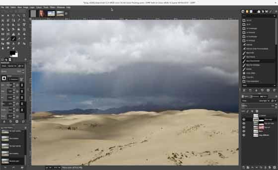 برنامج رسم GIMP