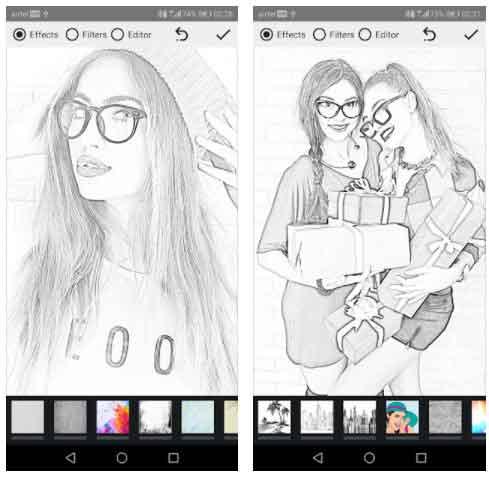 برنامج تحويل الصور الى رسم Pencil Photo Sketch