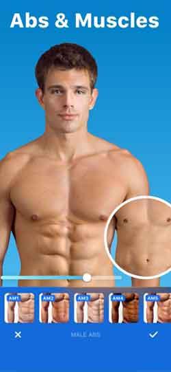 برنامج تعديل الجسم Peachy – Body Editor