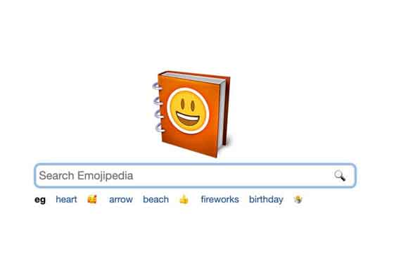 برنامج ايموجي Emojipedia