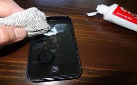 طرق ازالة خدوش شاشات الهواتف
