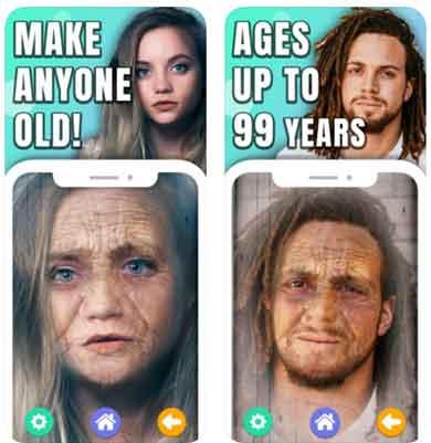 برنامج تكبير السن What Will I Look Like Old Face