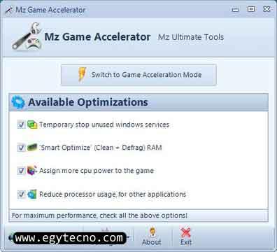 تحميل برامج تسريع الالعاب,10 برامج لتسريع الالعاب الثقيلة على الكمبيوتر