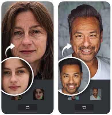 برنامج تكبير السن Face Cam