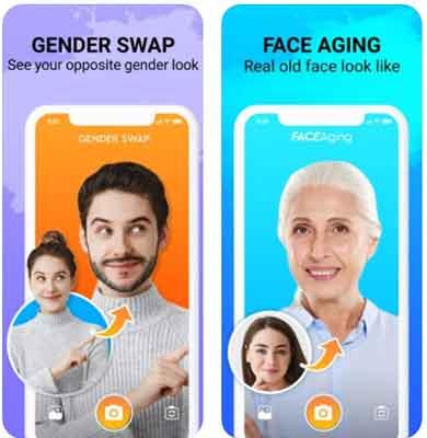 برنامج تكبير السن Face Story