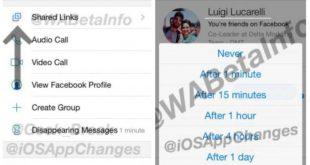 محادثات سرية و رسائل ذاتية الحذف في تحديث تطبيق فيسبوك ماسنجر