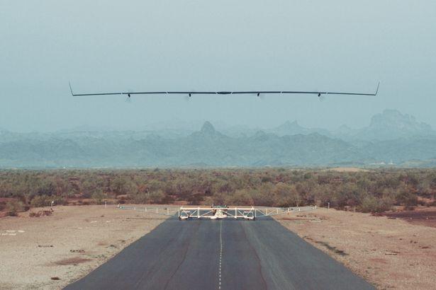 طائرة بدون طيار - flight of Aquila