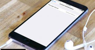تغيير صوت اشعارات الواتساب في هاتف الايفون