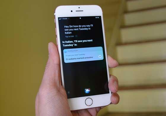 Siri برنامج ترجمة للايفون