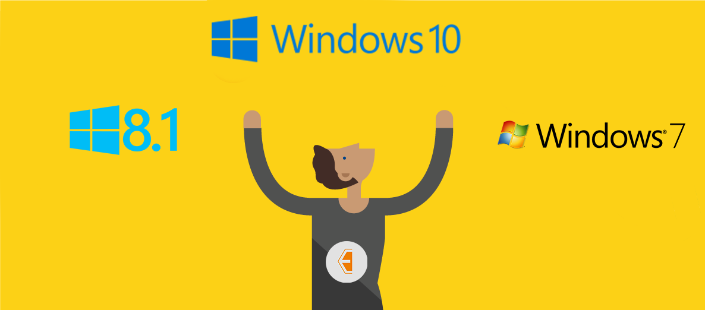 تحميل نسخ الويندوز الاصلية : ويندوز 7 ، ويندوز 8.1 ، ويندوز 10