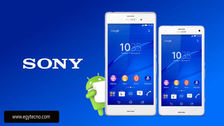 تحديث هواتف Sony Xperia Z2, Z3 and Z3 Compact الي اندرويد مارشميلو