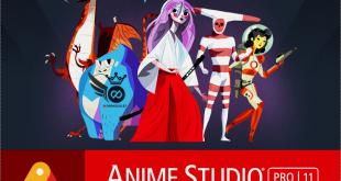 برنامج أنمي ستوديو عملاق الرسوم المتحركة | برنامج Anime studio Pro 11
