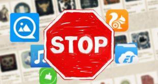 10 تطبيقات اندرويد لا تقم بتحميلهم