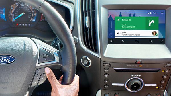سيارات فورد في 2017 ستعمل بنظام أندرويد اوتو وكار بلاي