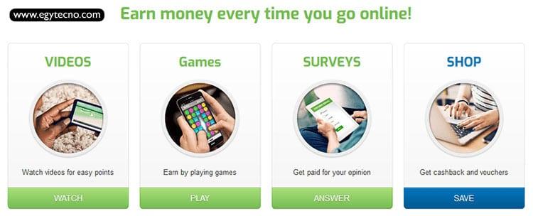 إستخدام موقع Get Paid to للربح من خلال الألعاب