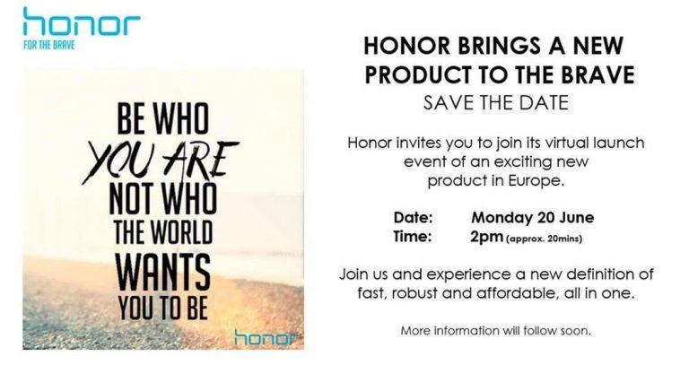 Honor ستعلن عن منتج جديد يوم 20 يونيو