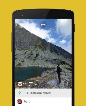 افضل تطبيق لألتقاط الصور بتقنية 360 درجة ومشاركتها علي الفيسبوك