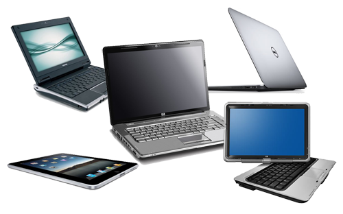 انوع الاجهزة المحمولة والفرق بينهم Laptop و Notebook و Ultrabook و Netbook