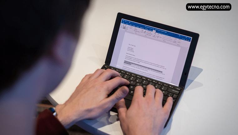مواصفات وسعر Lenovo ThinkPad X1 Fold اول لاب توب قابل للطي 2020