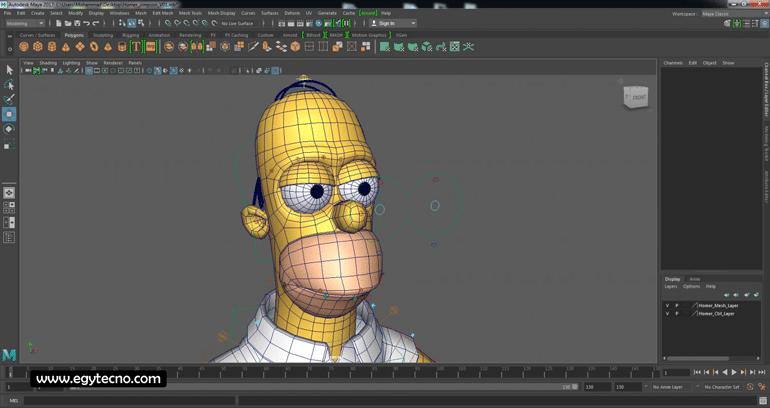 برنامج maya 3d الرائع في تصميم الرسوم المتحركة