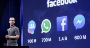 60 مليار رسالة يومياً عبر ماسنجر وواتس اب