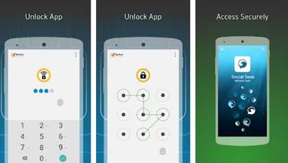 برنامج قفل التطبيقات بكلمة سر Norton App Lock