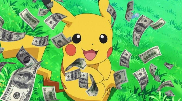 أرباح لعبة بوكيمون جو تتخطي 35 مليون دولار في اسبوعين فقط