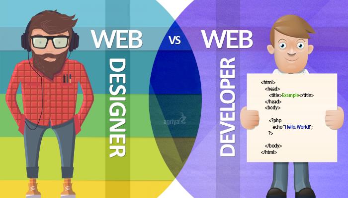 الفرق بين مطور الويب و مصمم الويب